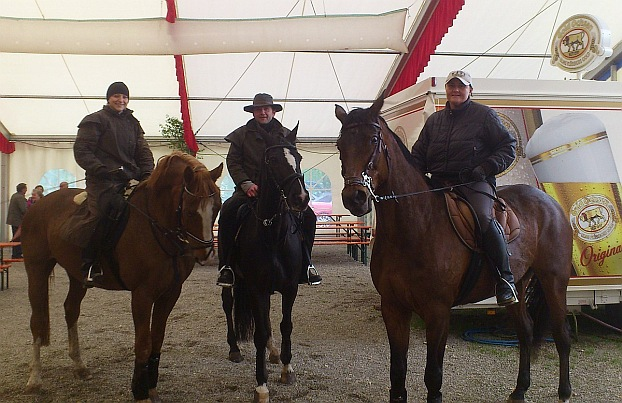 Von links: Moni Schwäble, Kai Niederberger und Heike Stark