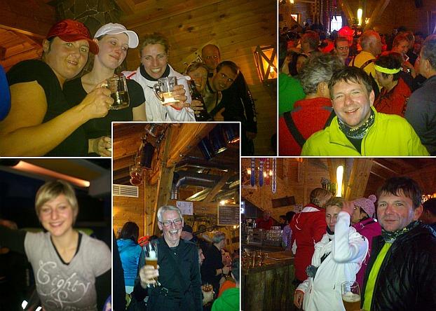 Hier ein paar Impressionen vom Après-Ski nach dem letzten Einkehrschwung